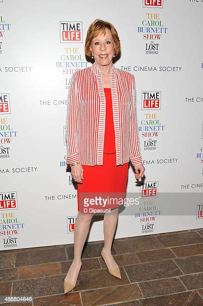 """Carol Burnett attends the """"The Carol Burnett Show: The Lost Episodes"""" screening hosted by Time Life and The Cinema Society at The Roxy Hotel on..."""