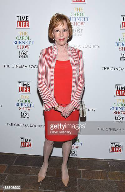 Carol Burnett attends the The Carol Burnett Show The Lost Episodes screening hosted by Time Life and The Cinema Society at Tribeca Grand Hotel on...