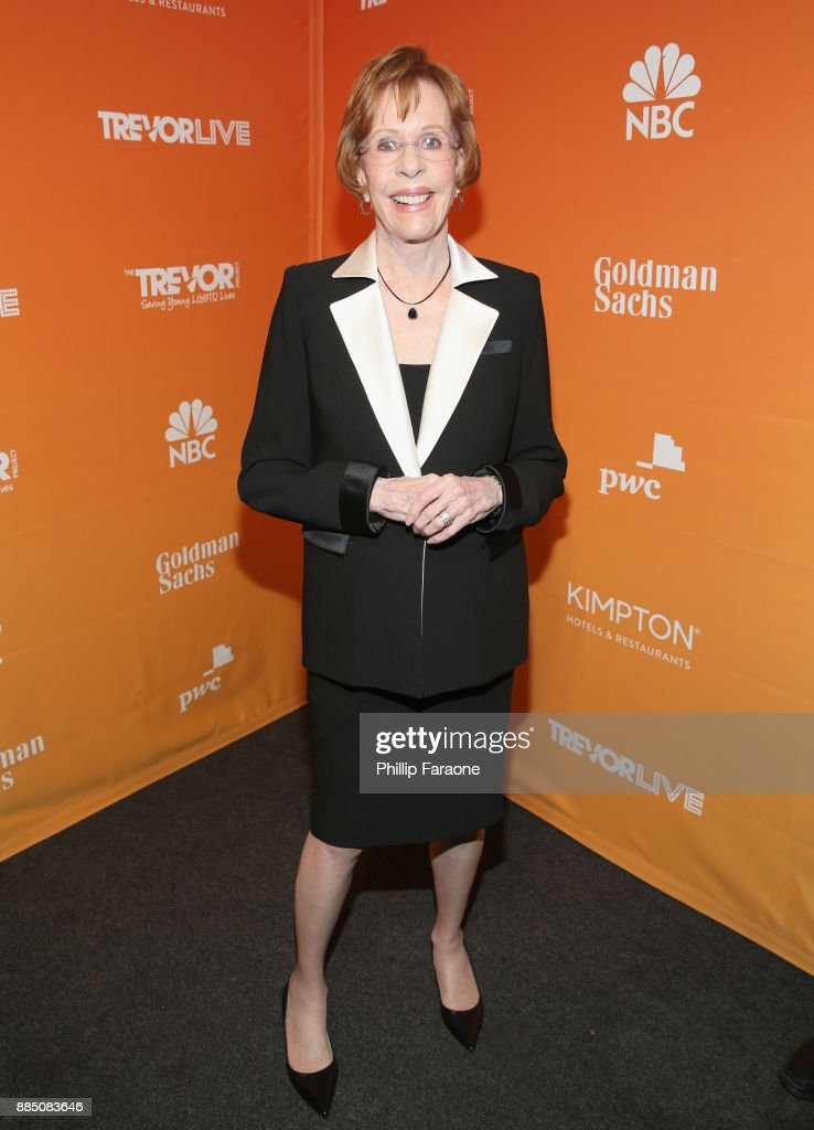Carol Burnett attends The Trevor Project's 2017 TrevorLIVE LA Gala at The Beverly Hilton Hotel on December 3, 2017 in Beverly Hills, California.