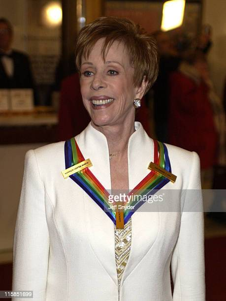 Carol Burnett during 26th Annual Kennedy Center Honors at John F Kennedy Center for the Performing Arts in Washington DC United States