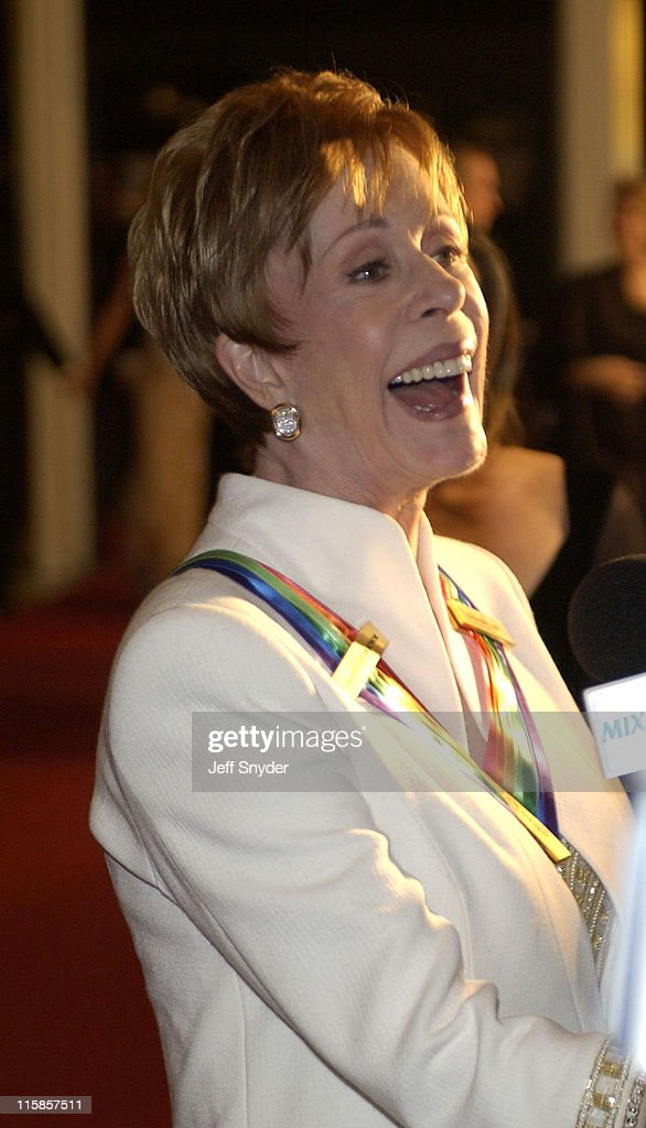 Carol Burnett during 26th Annual Kennedy Center Honors at John F Kennedy Center for the Performing Arts in Washington, DC, United States.