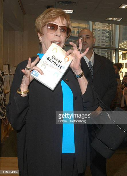 Carol Burnett during Carol Burnett at in Store Signing For Her New Book 'One More Time' at Barnes and Noble in New York City New York United States