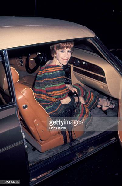 Carol Burnett during Carol Burnett Joe Hamilton Sighted at Century Plaza Hotel January 1 1977 at Century Plaza Hotel in Century City California...