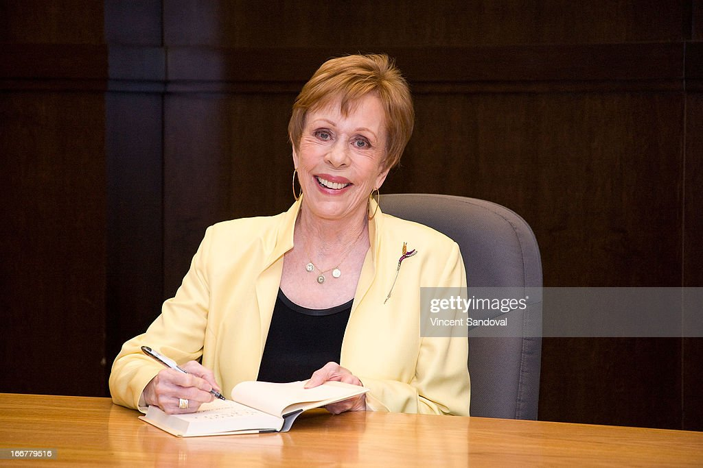 """Carol Burnett Signs Copies Of Her Book """"Carrie and Me: A Mother-Daughter Love Story"""""""