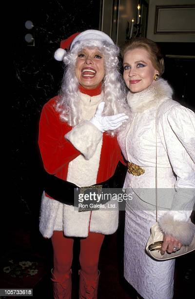 Carol Channing and Anne Jeffreys during 47th Annual Golden Apple Awards at Beverly Wilshire Hotel in Beverly Hills California United States