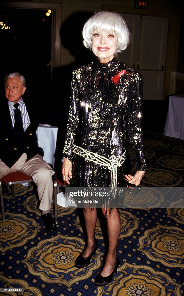 Carol Channing attendsGene Shalit Pro Celebrity Billards ...