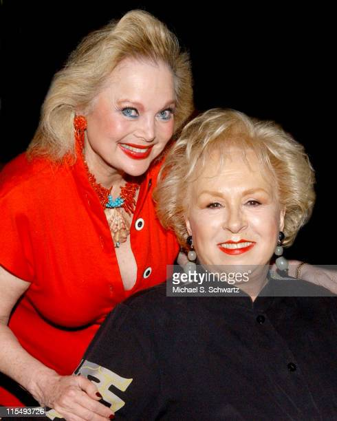 Carol Connors and Doris Roberts during The 20th Annual Charlie Awards at The Hollywood Roosevelt Hotel in Hollywood California United States