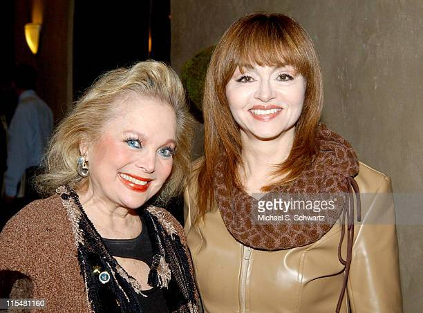 Carol Connors and Judy Tenuta during The 19th Annual Charlie Awards at The Hollywood Roosevelt Hotel in Hollywood California United States