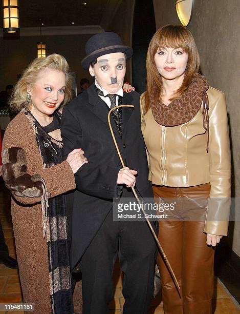 Carol Connors Charlie Chaplin lookalike and Judy Tenuta