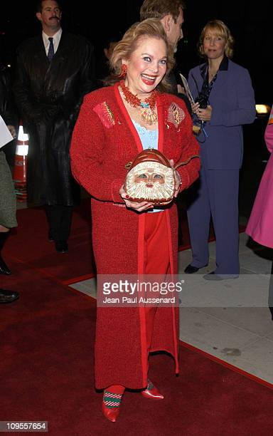 Carol Connors during Antwone Fisher Premiere Beverly Hills at Academy of Motion Picture Arts Sciences in Beverly Hills California United States