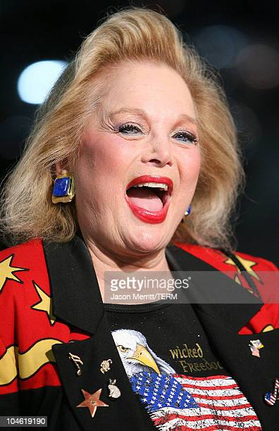 Carol Connors during I Walk the Line A Night for Johnny Cash Arrivals at Pantages Theatre in Hollywood California United States
