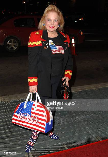 Carol Connors during I Walk the Line A Night for Johnny Cash Day 2 Arrivals at Pantages Theatre in Hollywood California United States