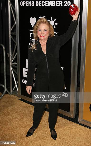 Carol Connors during Rocky Balboa World Premiere Arrivals at Chinese Theatre in Hollywood California United States