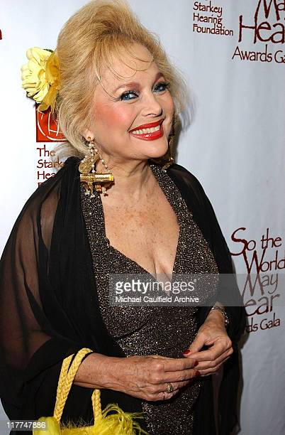 Carol Connors during So The World May Hear Awards Gala All Access at Rivercentre in St Paul Minnesota United States