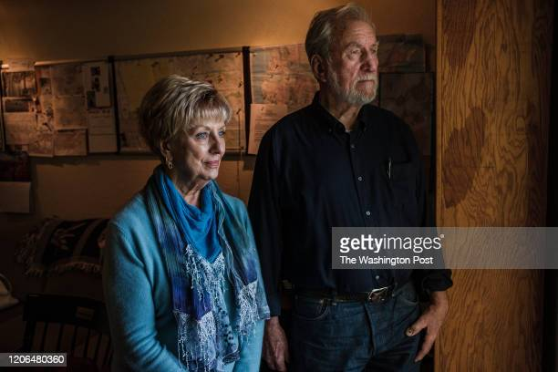 Carol Daly and Richard Shelby two of the original detectives assigned to the East Area Rapist case pose for a photograph