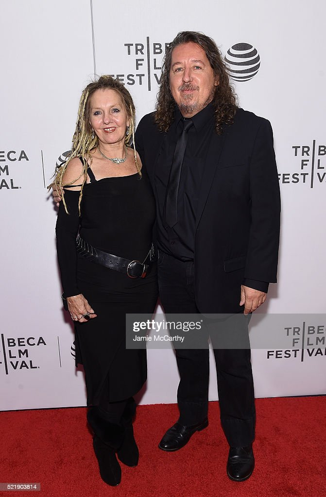 Carol D'Arcy and director Joe D'Arcy attend Whoopi's Shorts - 2016 Tribeca Film Festival at Festival Hub on April 17, 2016 in New York City.