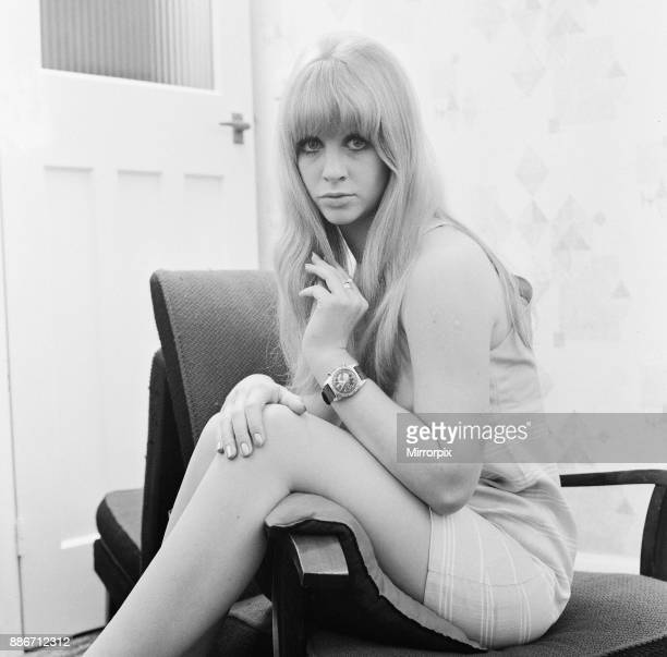 Carol Dilworth model and actress aged 19 years old pictured 7th November 1966 Additional Notes Carol Dilworth married to Len Hawkes of The Tremeloes...