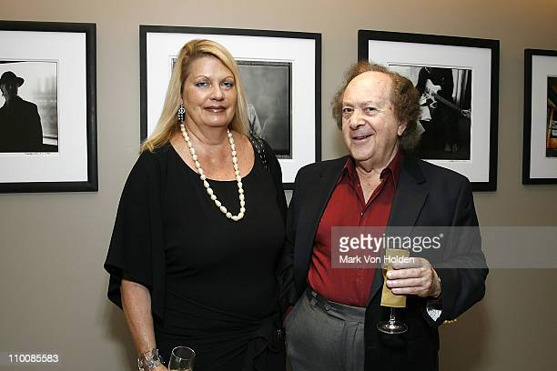 Carol Farley and Warner Classics Conductor Jose Serebrier attend the New York Chapter of NARAS Open House Reception at New York Chapter Office on...