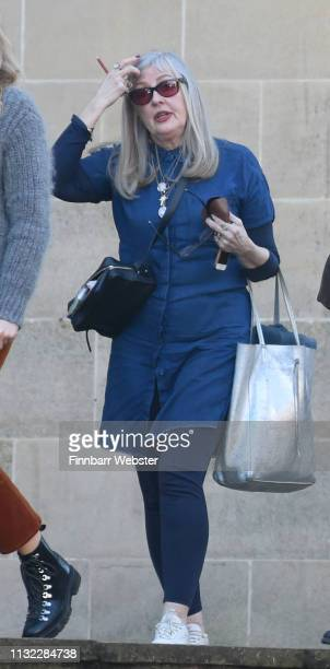 Carol FletcherMichie at Winchester Crown Court on February 26 2019 in Winchester England Ceon Broughton is on trial for manslaughter and supplying...