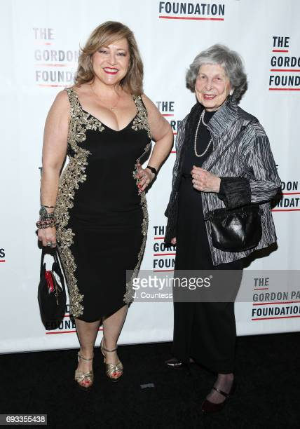 Carol Froehlich and Marion Froehlich attend the 2017 Gordon Parks Foundation Awards Gala at Cipriani 42nd Street on June 6 2017 in New York City