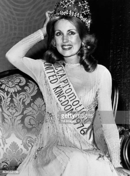 Carol Grant, Miss Scotland, who has now been crowned Miss United Kingdom during the finals in Blackpool.