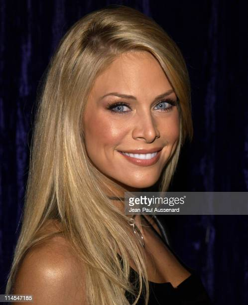 Carol Grow during 2004 Maxim Calendar Release Party at Bliss in Los Angeles California United States