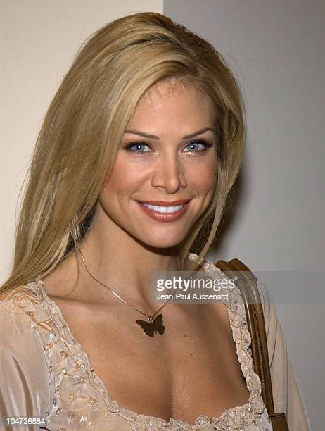 Carol Grow during Playboy/XM Night Calls Party at Le Meridien at Le Meridien Hotel in Beverly Hills California United States