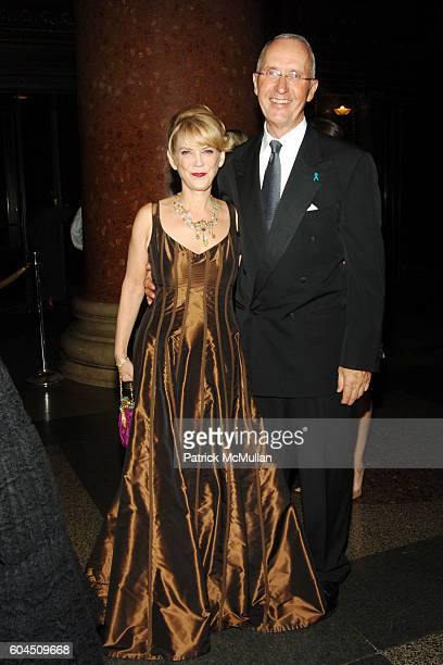 Carol Hamilton and Joe Campinell attend L'OREAL Legends Gala Benefiting The OVARIAN CANCER RESEARCH FUND at The American Museum of Natural History on...