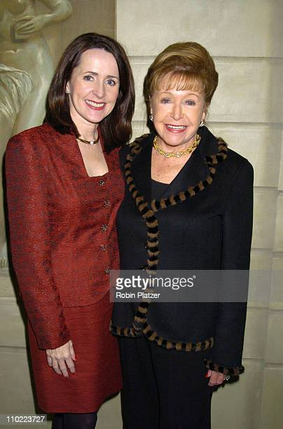 Carol Higgins Clark and Mary Higgins Clark during 16th Annual PAL Women of The Year Luncheon honoring Kelly Ripa and Paula Zahn at The Pierre Hotel...