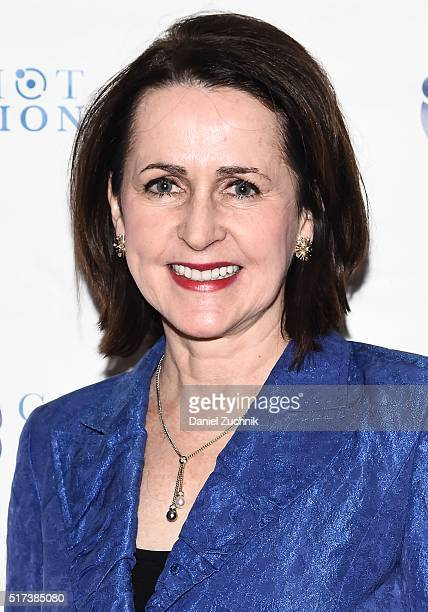 Carol Higgins Clark attends the 2016 Broadway Supports The NMA at Sardi's on March 24 2016 in New York City