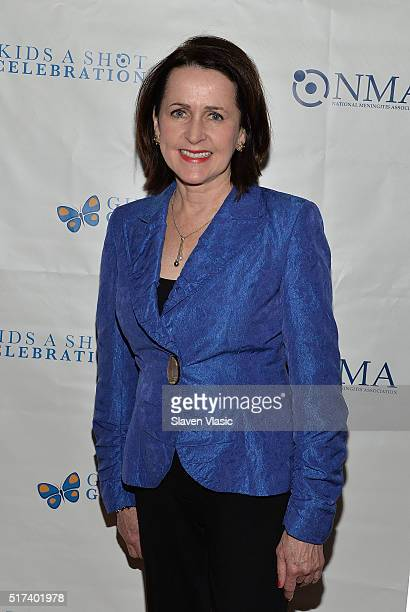 Carol Higgins Clark attends the preshow reception for annual 'Give Kids a Shot Gala Celebration' Broadway's support for The National Meningitis...