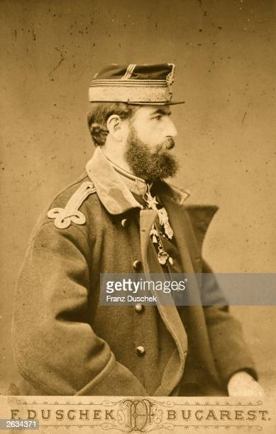 Carol I King of Romania photographed two years after Romania gained full independence upon the RussianRomanian victory over the Ottomans