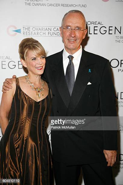 Carol J Hamilton and Joe Campinell attend L'OREAL Legends Gala Benefiting The Ovarian Cancer Research Fund at The American Museum Of Natural History...