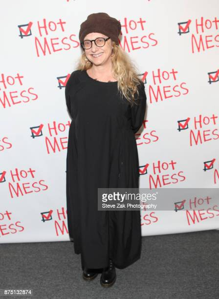 Carol Kane attends 'Hot Mess' Opening Night at Jerry Orbach Theater on November 16 2017 in New York City