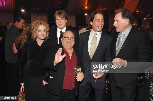 Carol Kane Randall Carver Danny DeVito Tony Danza and Judd Hirsch