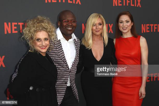 Carol Kane Tituss Burgess Jane Krakowski and Ellie Kemper attend the Netflix's Unbreakable Kimmy Schmidt For Your Consideration Event at Saban Media...