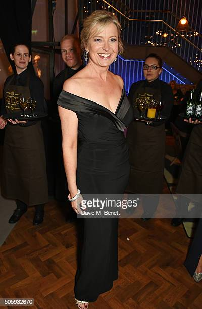 Carol Kirkwood attends the 21st National Television Awards at The O2 Arena on January 20 2016 in London England