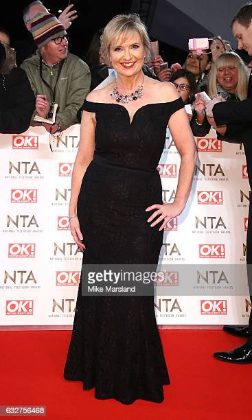 Carol Kirkwood attends the National Television Awards at The O2 Arena on January 25 2017 in London England