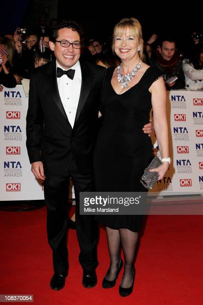 Carol Kirkwood attends the The National Television Awards at the O2 Arena on January 26 2011 in London England