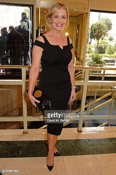 Carol Kirkwood attends the TRIC Awards at Grosvenor House Hotel at The Grosvenor House Hotel on March 8 2016 in London England