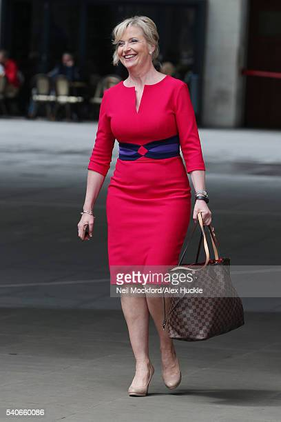 Carol Kirkwood seen at the BBC Portland Place on JUNE 16 2016 in London England
