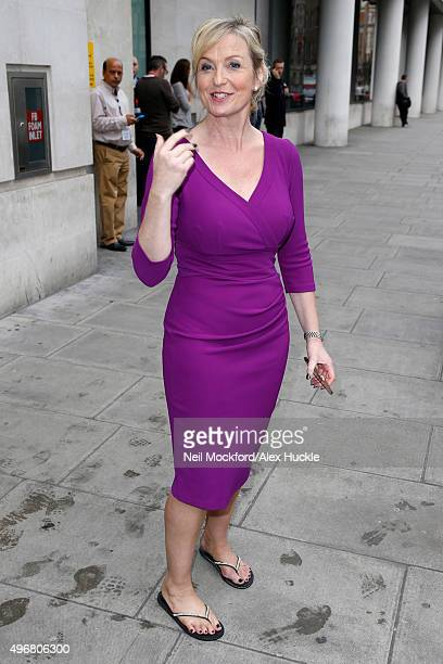Carol Kirkwood seen at the BBC Portland Place on November 12 2015 in London England Photo by Neil Mockford/Alex Huckle/GC Images