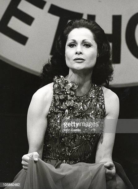 Carol Lawrence during Carol Lawrence at 4th Annual Variety Club Telethon at KTTV Studios in Los Angeles California United States