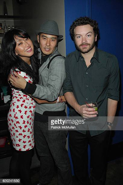 Carol Lee Simon Shin and Danny Masterson attend Paper Magazine The Last Supper at Shin BBQ on November 9 2008 in Hollywood CA