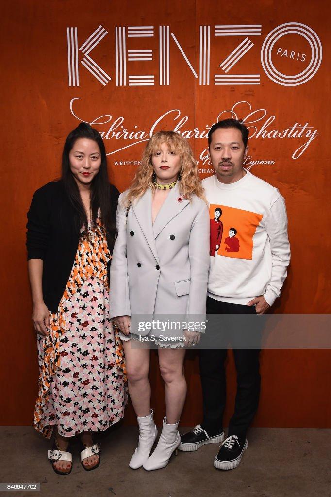 Carol Lim, Natasha Lyonne and Humberto Leon attend KENZO, Humberto Leon, Carol Lim and Natasha Lyonne Premiere 'Cabiria, Charity, Chastity' In New York City at Public Arts on September 13, 2017 in New York City.