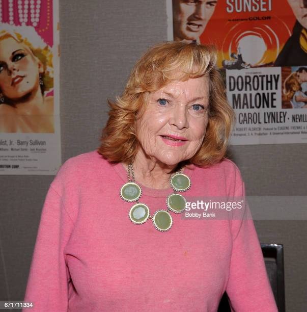 Carol Lynley attends Chiller Theatre Expo Spring 2017 at Hilton Parsippany on April 22 2017 in Parsippany New Jersey
