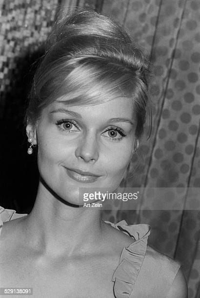 Carol Lynley, close-up; circa 1970; New York.