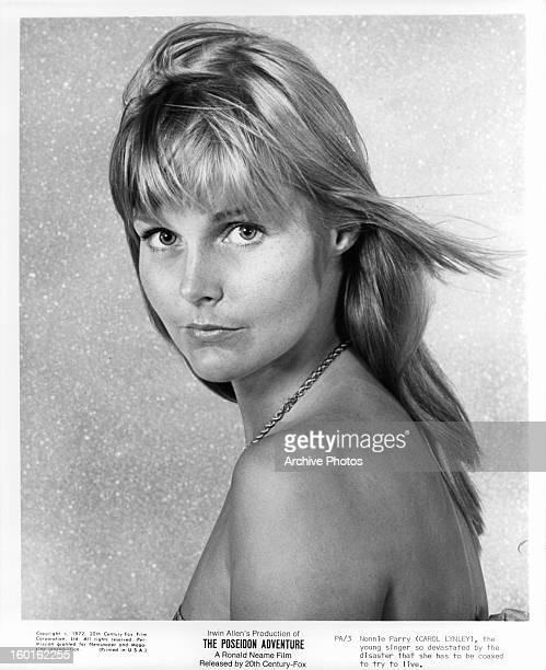 Carol Lynley publicity portrait for the film 'The Poseidon Adventure' 1972