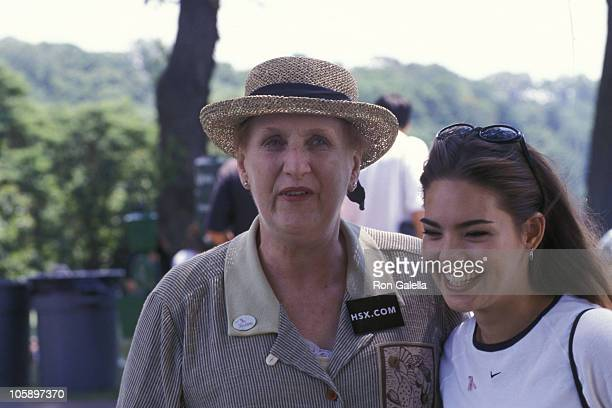 Carol M Baldwin and Kimberly Anne Pressler during Breat Cancer Foundation Celebrity Golf Tournament at St Andrew's Golf Course in New York City New...