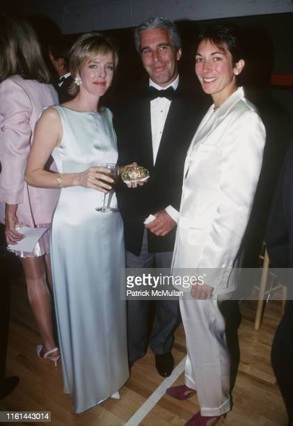 Carol Mack Jeffrey Epstein and Ghislaine Maxwell attend Henry Street Settlement Event on May 16 1995 in New York City